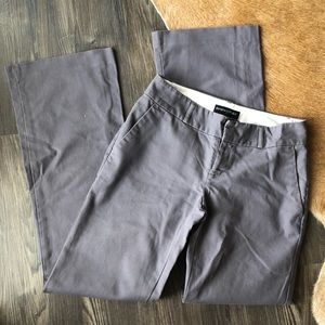 Gray Banana Republic Chino Pants